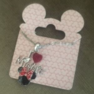 Disney Minnie Necklace - 46  - $12 FIRM